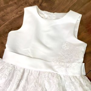 Couture Princess White Formal Dress